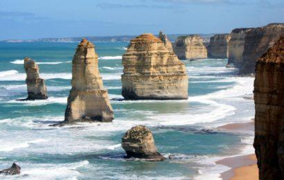 Dvanáct apoštolů – jižní pobřeží Australie