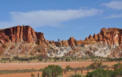 Centrum australské pouště Alice Springs