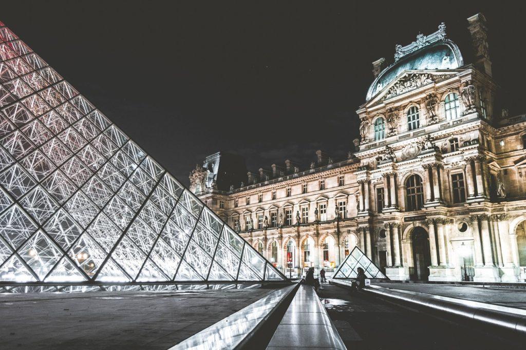 Vánoční Paříž