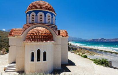 Dovolená na Krétě, to jsou antické památky i nádherné koupání