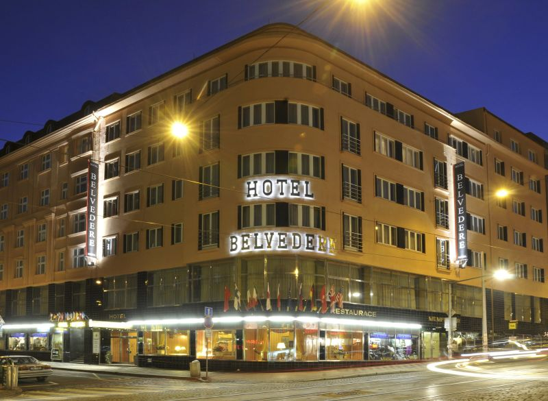 Komfortní ubytování v Praze za dostupnou cenu? Hotel Belvedere vás vítá!