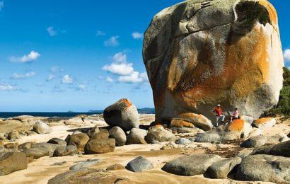 Tasmánie – ostrov Bruny