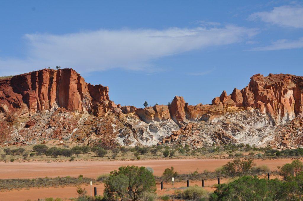 Centrum australské pouště