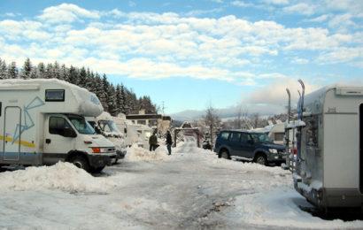 Karavanový kemp Liščí Farma v Krkonoších s možností dlouhodobého stání