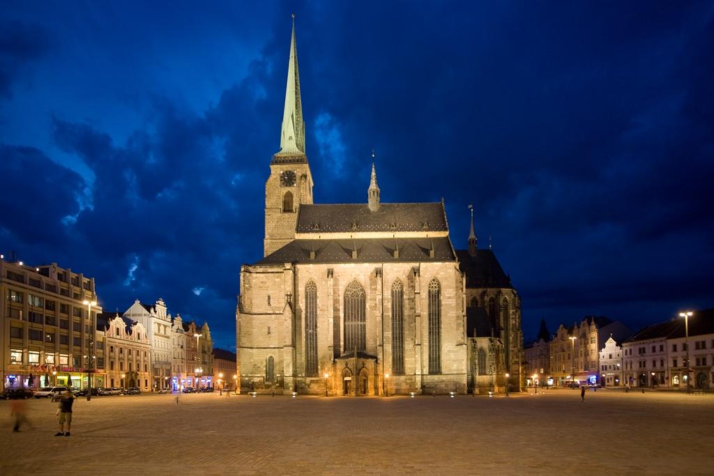 katedrála v Plzni